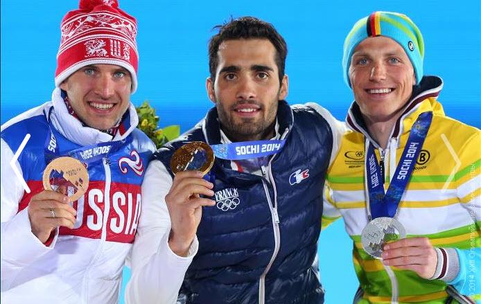 10 Биатлонист Евгений Гараничев стал  бронзовым призером в индивидуальной гонке.