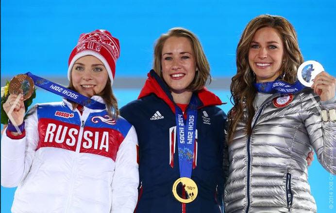 12 Елена  Никитина выиграла бронзу в скелетоне