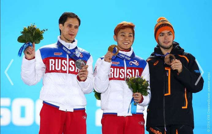 13 Виктор Ан выиграл золото в шорт-треке на дистанции 1500 м